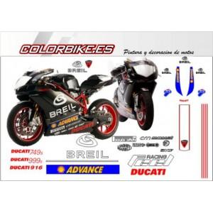 Kit Ducati MotoGP Breil 2004