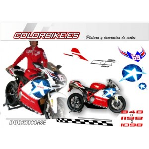 Kit Ducati MotoGP Hayden 2009