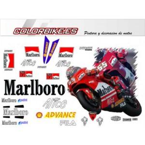 Kit Ducati MotoGP Marlboro 2004