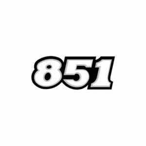 2x Pegatinas ducati 851