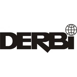 2x Pegatina logo derbi