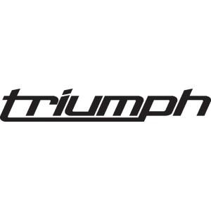 Pegatina nuevo logo Triumph