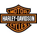 Pegatina log Harley 1
