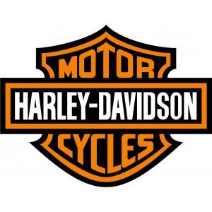 2x Pegatinas logo Harley 1