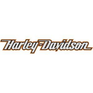 2x Pegatinas logo Harley nuevo