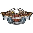 Pegatina logo Harley Aguila