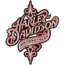 Pegatina Harley tribal
