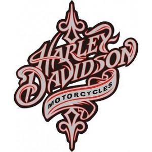 2x Pegatinas Harley tribal