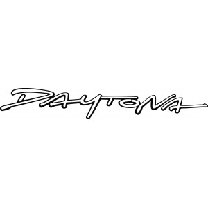 2x Pegatina Daytona 600 Laterales