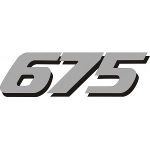 2x Pegatina Daytona 675 colin