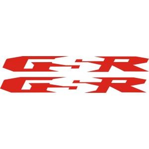 2x Pegatinas GSR