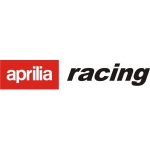 2x Pegatina Aprilia Racing 1