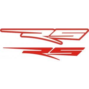 Pegatina Aprilia logo RS