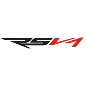 2x Pegatinas logo RSV4