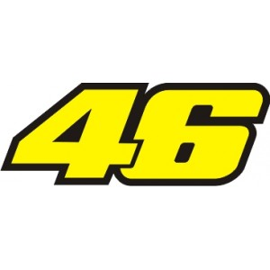 Pegatina Rossi 46 Nuevo