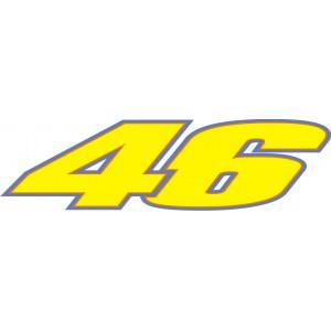 Pegatina Rossi 46