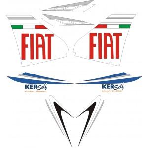 Pegatinas Yamaha Aerox Fiat Rossi