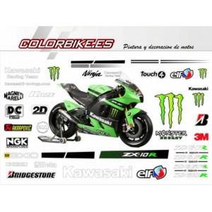 KIT Kawasaki Monster MotoGP 2008