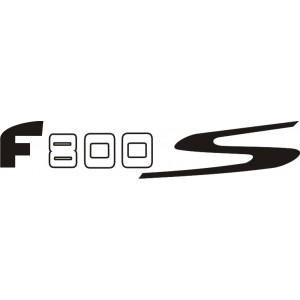 2x Pegatinas F 800 S