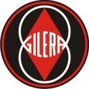 2x Pegatinas Gilera logo