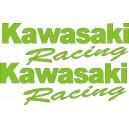 2x Pegatinas Kawasaki Racing