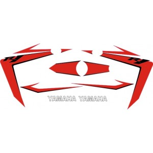 Pegatinas Yamaha R1 07 Rojas