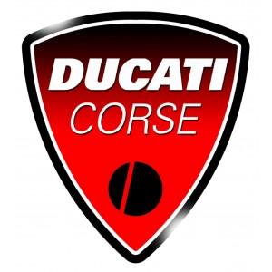 2x Logo Escudo Ducati GEL