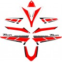 Kit Pegatinas Yamaha TMAX 500 Aniversario 2014