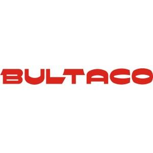 2x Pegatinas logo Bultaco 1