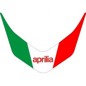 Pegatina bandera italia Frontal Caponord