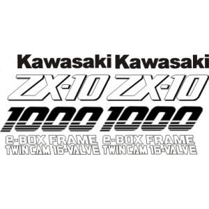 KIT Pegatinas Kawasaki ZX10 92