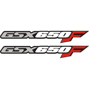 2x Pegatinas logo GSX650F