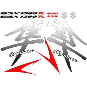 Kit Pegatinas GSXR 1300 Hayabusa
