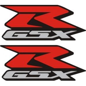 2x Pegatinas logo GSXR