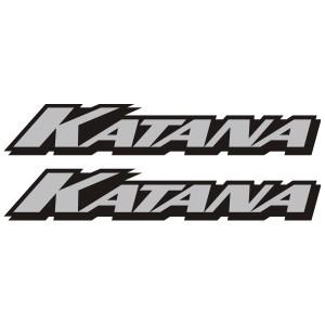 2x Pegatinas Suzuki Katana