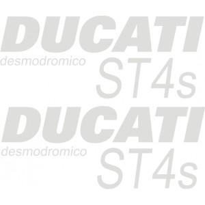 Pegatinas ST4S desmodromico