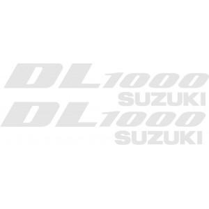 2x Pegatinas suzuki DL1000
