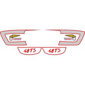 Pegatinas Ducati 48TS