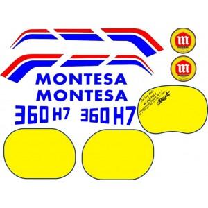 Pegatinas Montesa 360 H7