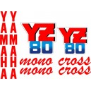 Kit Pegatinas YZ 80 1987