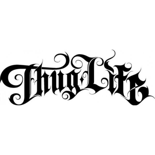 Pegatina Thug Life 2