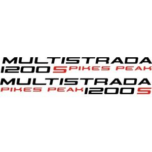 Pegatinas Ducati Multistrada 1200S Pikes