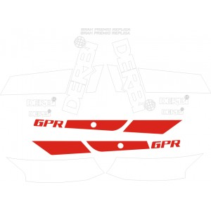 Kit pegatinas Derbi GPR 75 Gran Premio Replica