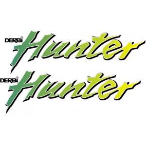 2x Pegatinas Derbi Hunter