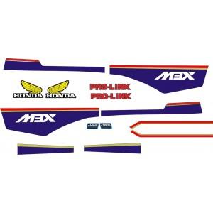 Pegatinas honda MBX Rothmans