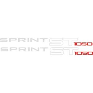 2x Pegatinas triumph Sprint ST 1050
