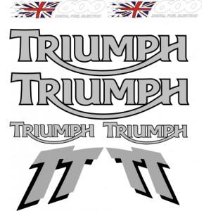 Kit Pegatinas Triumph TT 600