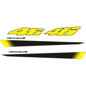 Pegatinas Yamaha R6 Rossi