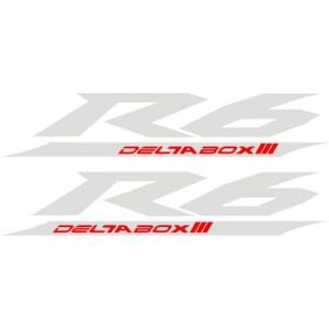Pegatinas Yamaha R6 Deltabox III