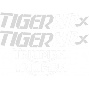 Pegatinas triumph tiger XRX